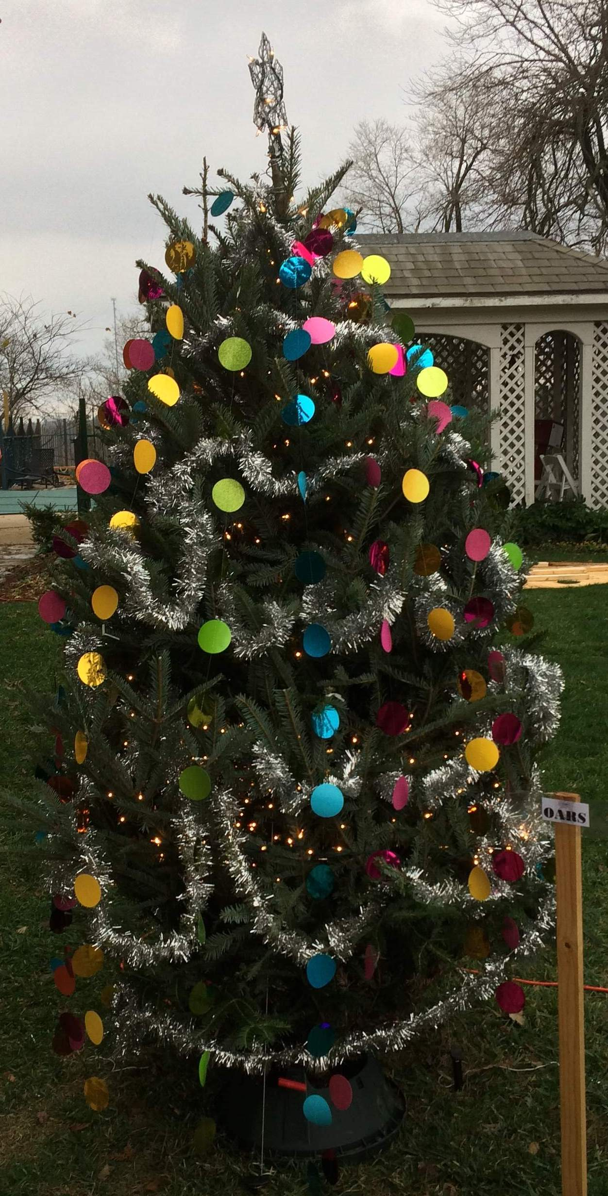OARS Christmas Tree 2017